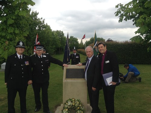 A service to commemorate Special Constables who have lost their lives in the line of duty, took place at The National Memorial Arboretum in Staffordshire on Sunday (14th June).