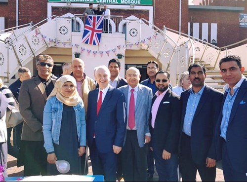 Around 400 People Attended A Traditional English Tea Party At Birmingham Central Mosque