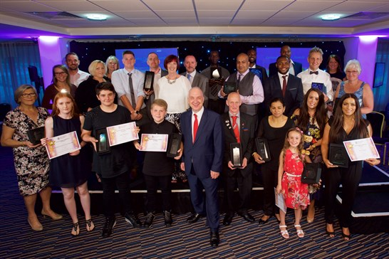 west midlands police and crime commissioner community heroes