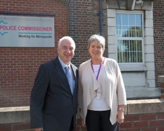 PCC David Jamieson's visit to Merseyside PCC