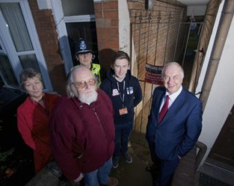 Shutting the gates on crime in Selly Oak