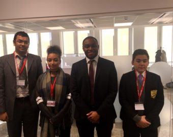 Students step into the shoes of West Midlands Police and Crime Commissioner