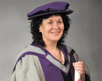 SPCB member Cath Hannon awarded Professional Doctorate