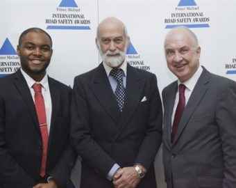 West Midlands Police and Crime Commissioner attends Prince Michael International Road Safety Awards