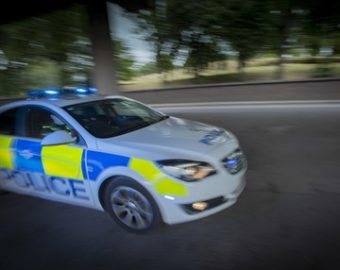 Praise for police after rescuing children aged 2 and 4