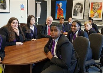 PCC meets with students to discuss the dangers of carrying a knife