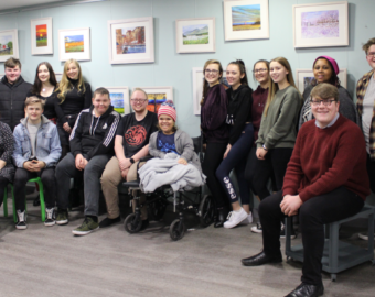 Youth Council recognised for award after raising money for the homeless