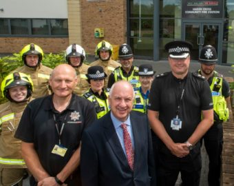 West Midlands Police Officers Move Into Fire Stations