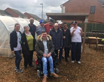 PCC funds Solihull gardening project to support vulnerable adults
