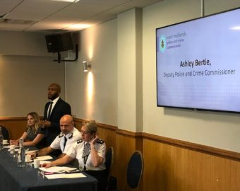 West Midlands Police host training event for cops carrying life-saving drug treatment