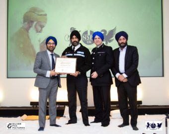 West Midlands Assistant Police and Crime Commissioner celebrates 550 years of Guru Nanak.