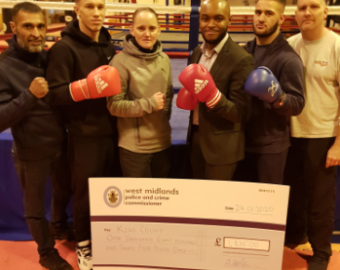 New Boxing Equipment on way to support local youngsters