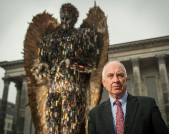 Police and Crime Commissioner welcomes Knife Angel's visit to Wolverhampton