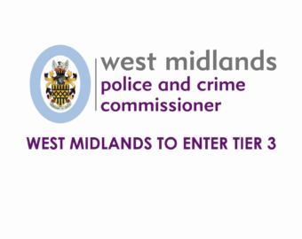 West Midlands Placed in Tier 3