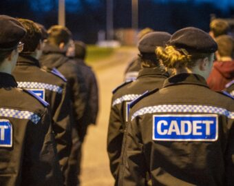 Police on course to reach 500 cadets