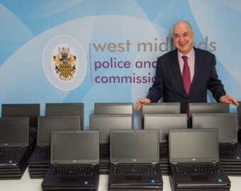 Police and Crime Commissioner donates 700 laptops to disadvantaged young people