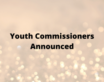 16 Youth Commissioners chosen following election