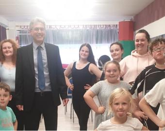 Free dance classes for children in Tipton